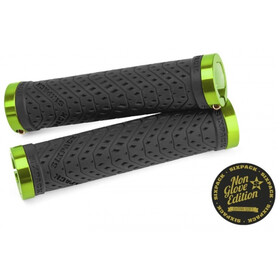 Sixpack K-Trix Lock-On Grips Non Glove, black/electric-green